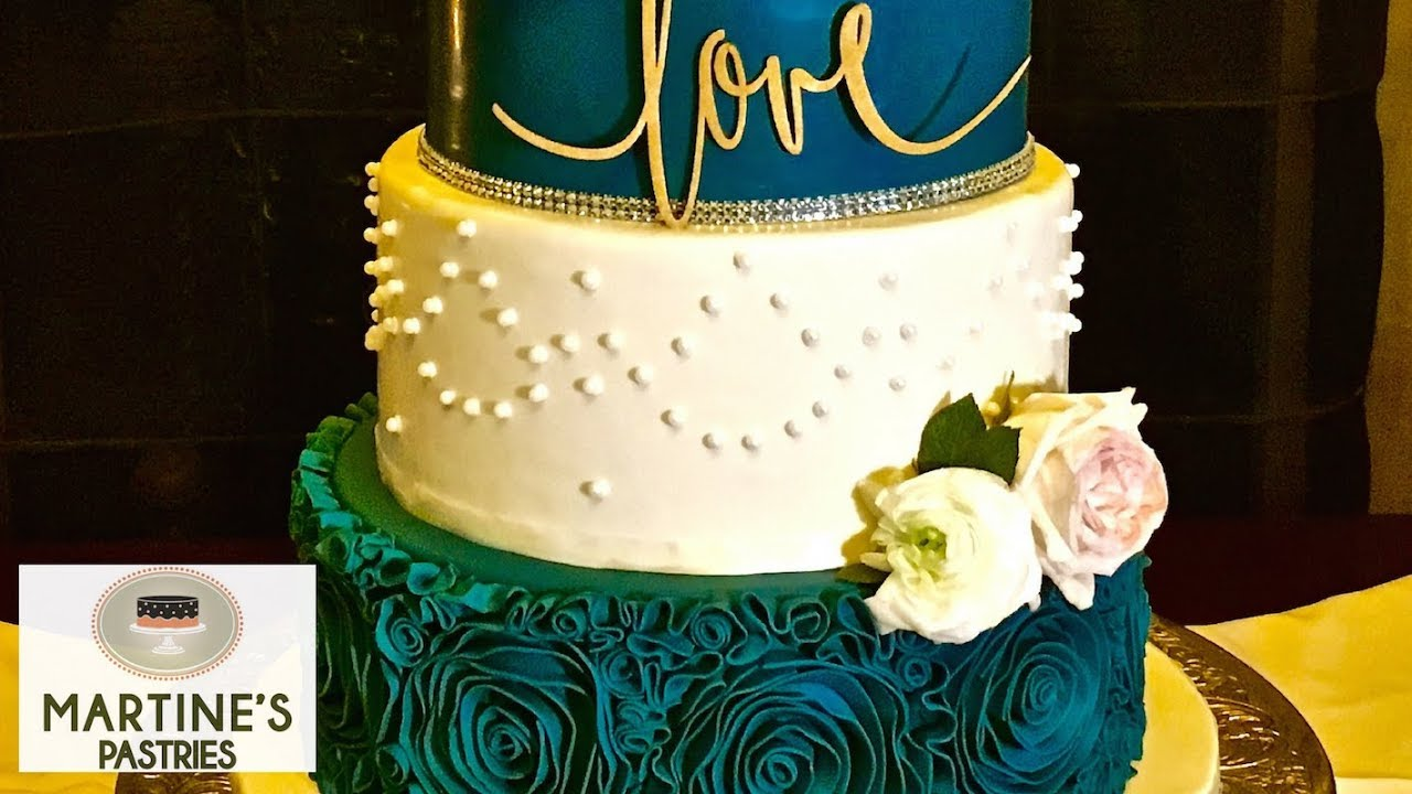 Wedding Cake Decorating : with Fondant Flowers for Your Wedding ...