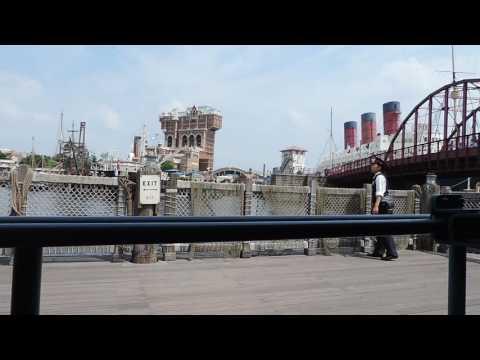 Disney Sea Tokyo--- Boat ride