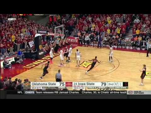 Oklahoma State vs Iowa State | 2016-17 Big 12 Men