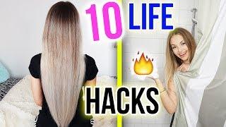 10 HAIR HACKS für lange gesunde HAARE, die du kennen musst 💇 XLAETA