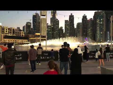 New year celebrations in Dubai 2021 &Dubai mall fountain