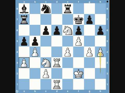 Famous Chess Game:  Lasker vs. Capablanca 1914