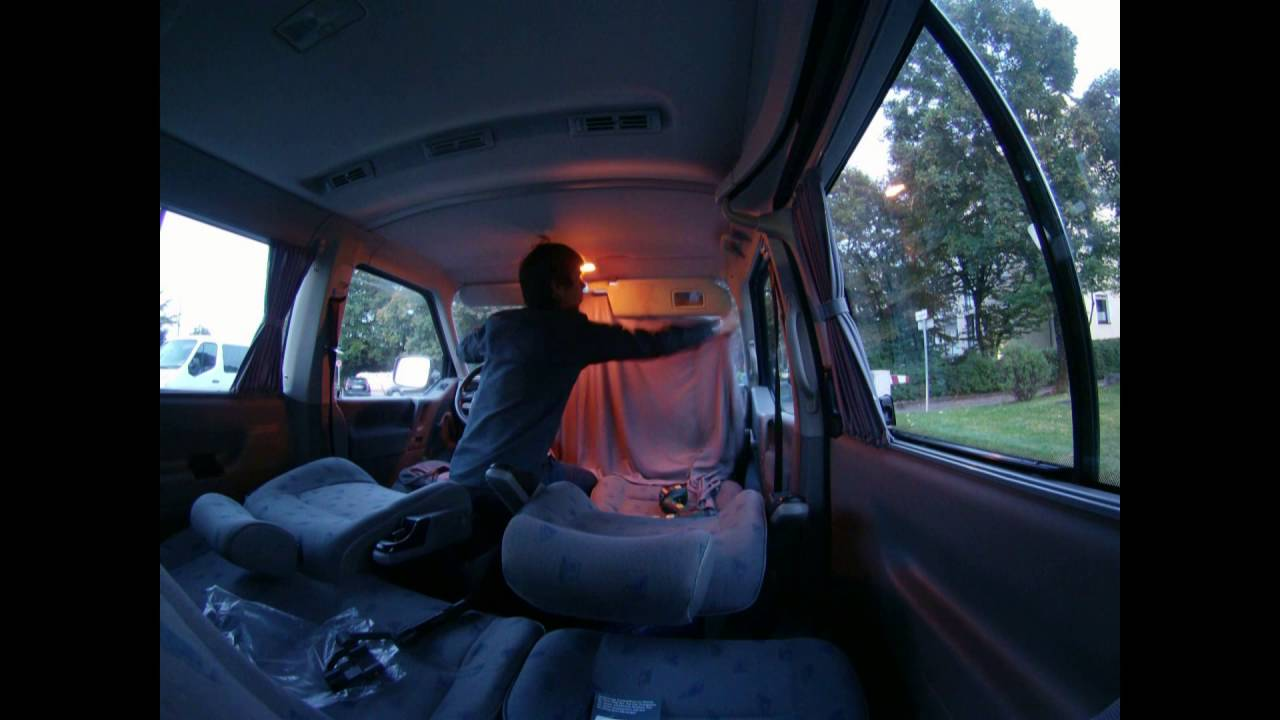 Projekt VW T4 Campingbus]   Vorhänge (BAIMEX) GoPro   YouTube