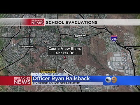 Parent Barricaded At Riverside Elementary School