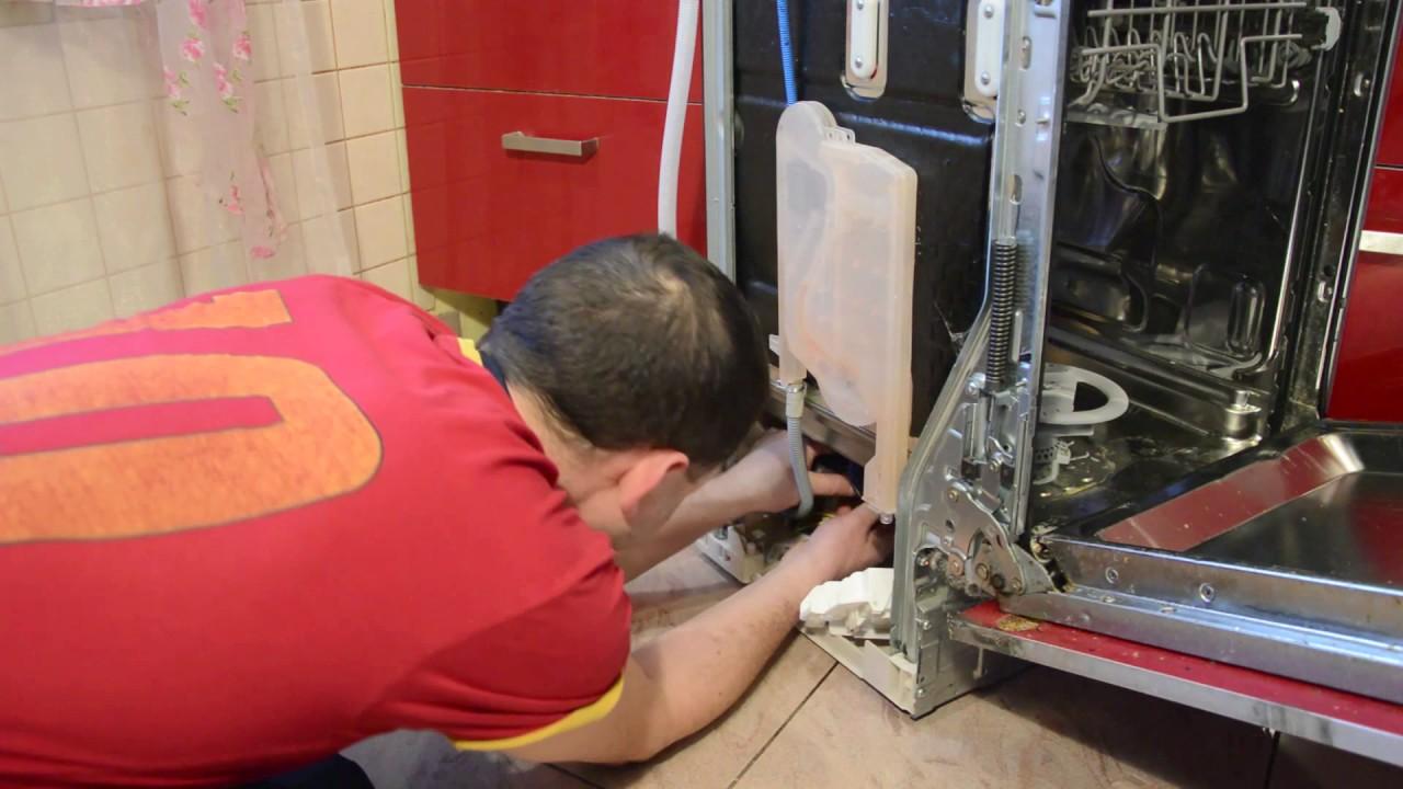 Ремонтируем посудомоечную машину. Устраняем протечку. Чиним патрубок-шланг.