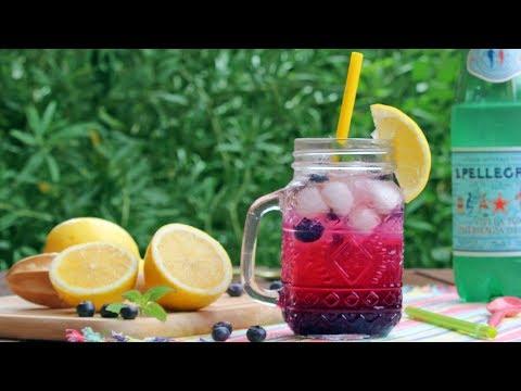 Sparkling Blueberry Lemonade Recipe | How Tasty Channel