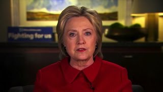"Hillary Clinton: ""I've been more transparent than anybody"""