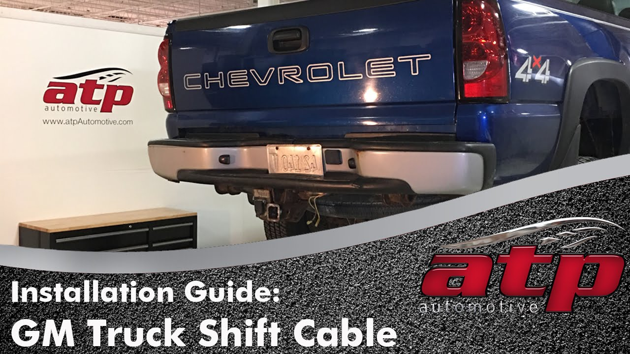 how to remove install a shift cable on chevy silverado or gmc sierra truck [ 1280 x 720 Pixel ]