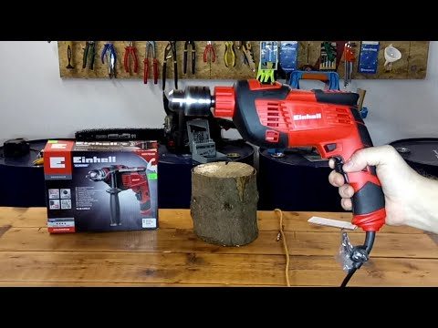 EINHELL TC-ID 1000 Drilling Machine TEST!!!