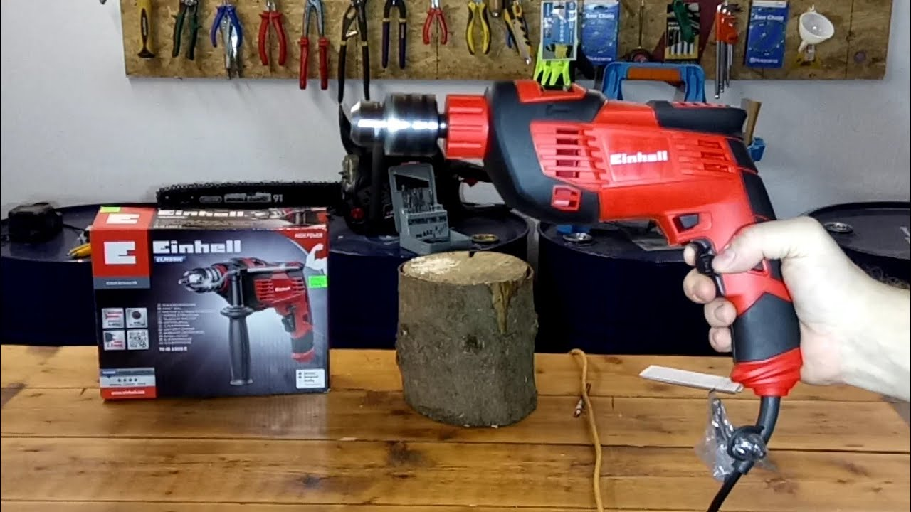 Einhell Tc Id 1000 Drilling Machine Test Youtube