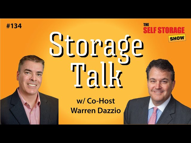 😎 #134: Storage Talk - Warren Dazzio