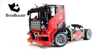 Lego Technic 42041 Race Truck - Lego Speed build