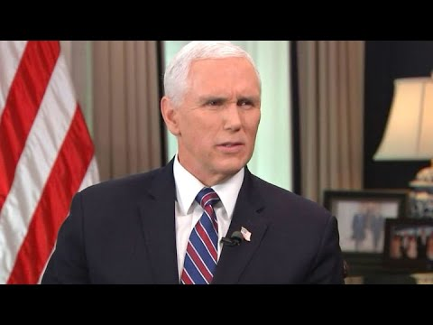 VP Mike Pence on China tensions, whether the White House is worried about inflation