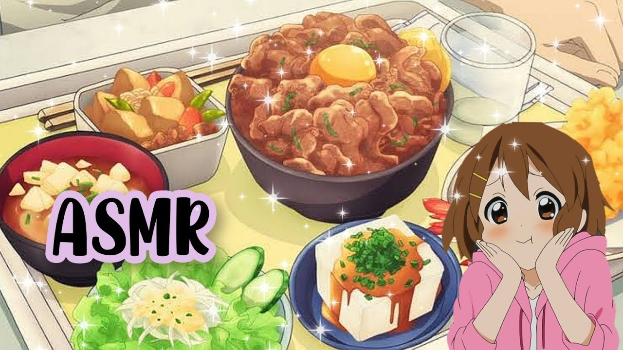 Asmr Best Anime Food Compilation Asmr And Gif Anime Eating And Cooking Delicious Youtube