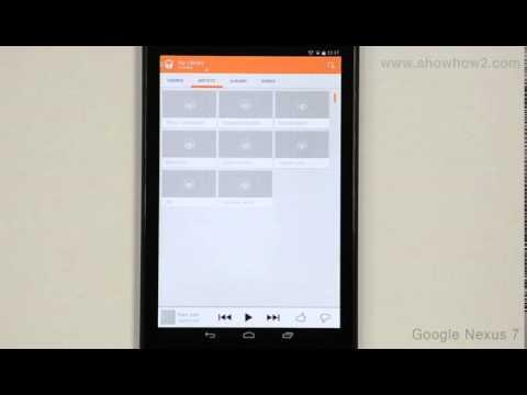 Google Nexus 7 - Introduction To Music Player