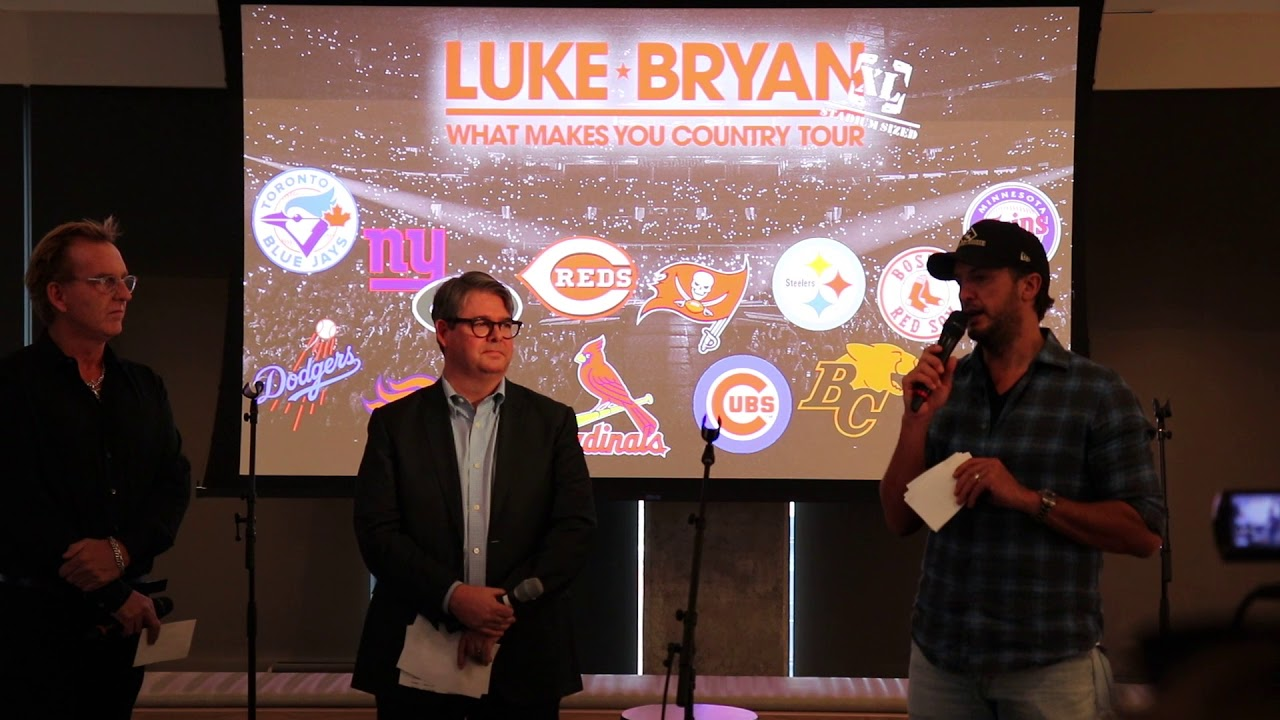Luke Bryan Announces What Makes You Country 2018 Stadium ...