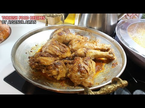 Turkish Spicy Fried Chicken With 2 Side Dishes 🍗 Turkish Food Recipes