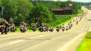 Wounded Heroes Ride through Scarborough, July 12 2014