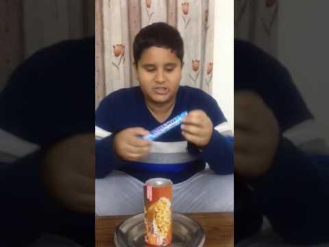 Diet coke volcano