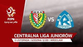 CLJ: Śląsk Wrocław - Ruch Chorzów
