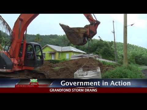GOVERNMENT IN ACTION - Soufriere Berthing Jetty