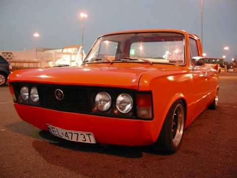 Chłodny Tribute to Orange Fiat 125p Pick-Up - YouTube ON72