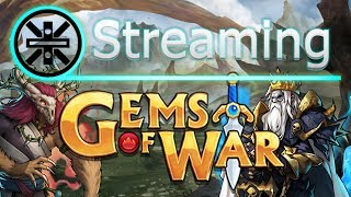 🔥 Gems of War Stream: Wild Court Delves and The Gray King Mythic 🔥