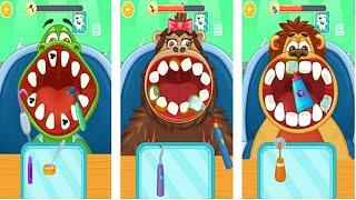 Let's Play • Children's doctor : Dentist • Zabawa w dentystę, zwierzątka, Bajki, Gry dla dzieci