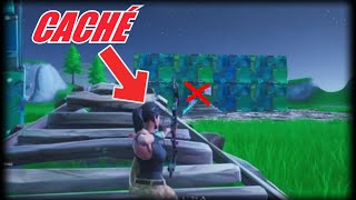 FORTNITE: A visual bug allows players to shoot with the explosive arc without being seen!