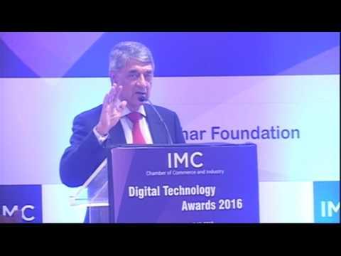 IMC DIGITAL TECHNOLOGY AWARDS 2016