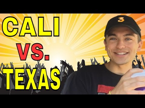 DIFFERENCES BETWEEN CALIFORNIA AND TEXAS