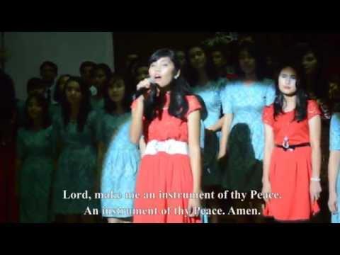 Prayer Of Saint Francis by Koor Gabungan Fisika USU 2013 dan 2014