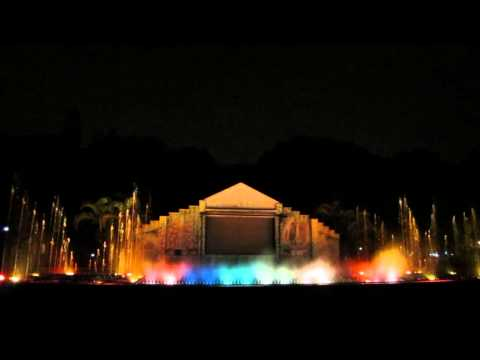 Indira Gandhi Musical fountain - Bangalore India