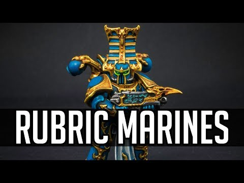 How to paint Thousand Sons Rubric Marines