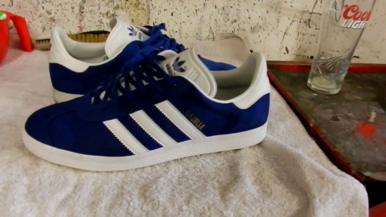 How to Clean Adidas Original Trainers Cheap and Easy! - Ft Gazelle II s 3659f274d5