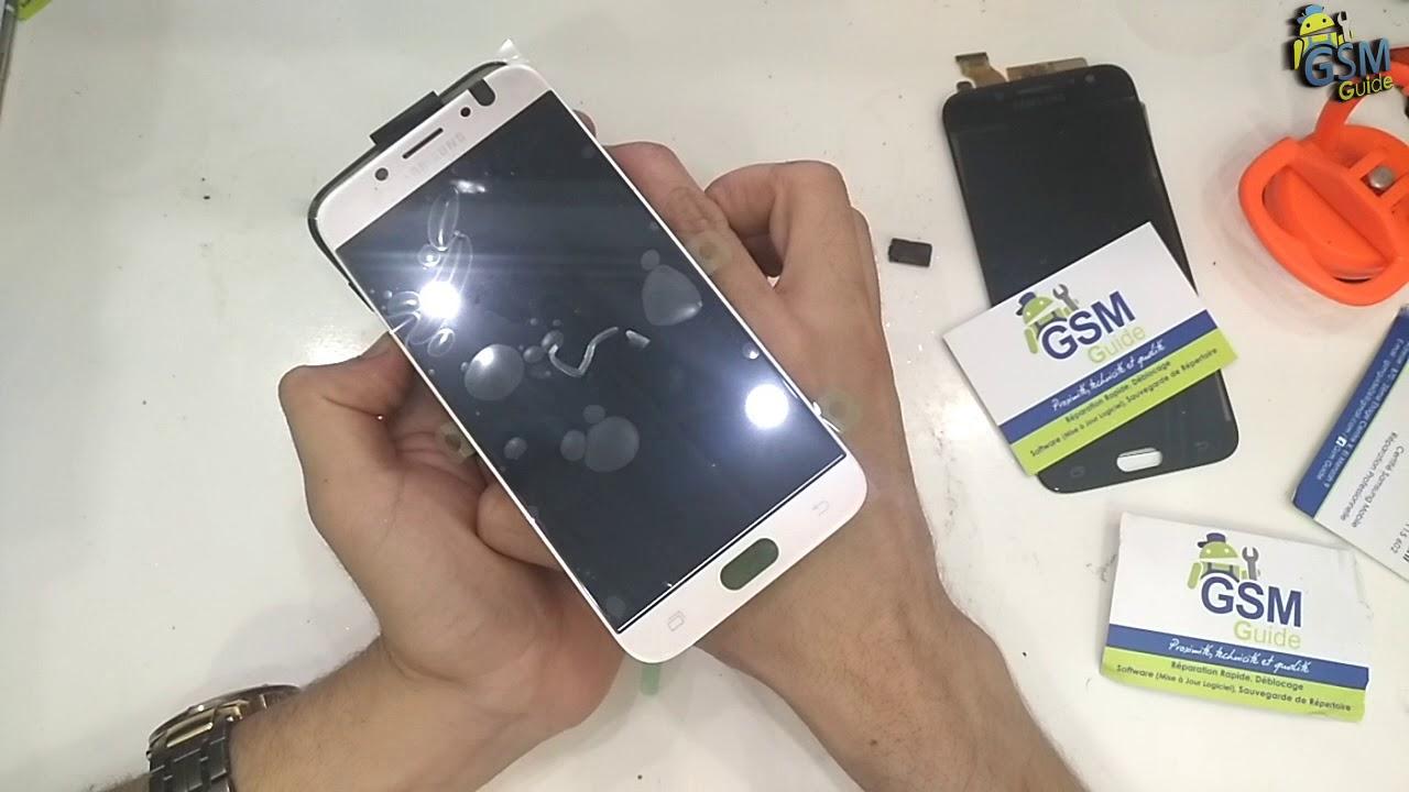 415d1254e3 Samsung J7 Pro SM-J730F   J5 Pro SM-J530F Lcd Screen Repair Replacement -  GSM GUIDE