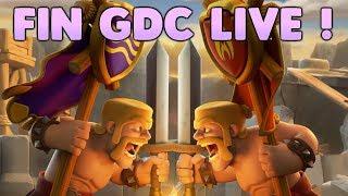 Clash of Clans - FIN DE GDC LIVE ! Attaques HDV 10 et HDV 11