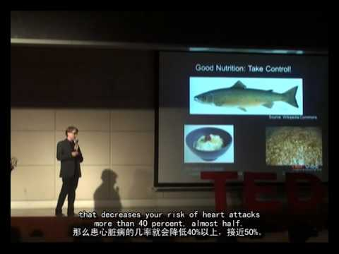 TEDx: Healthy Living In China