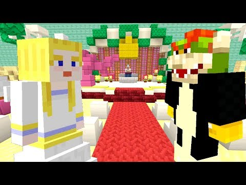 BOWSERS WEDDING DAY! *GETTING MARRIED!*  Nintendo Fun House  Minecraft 359