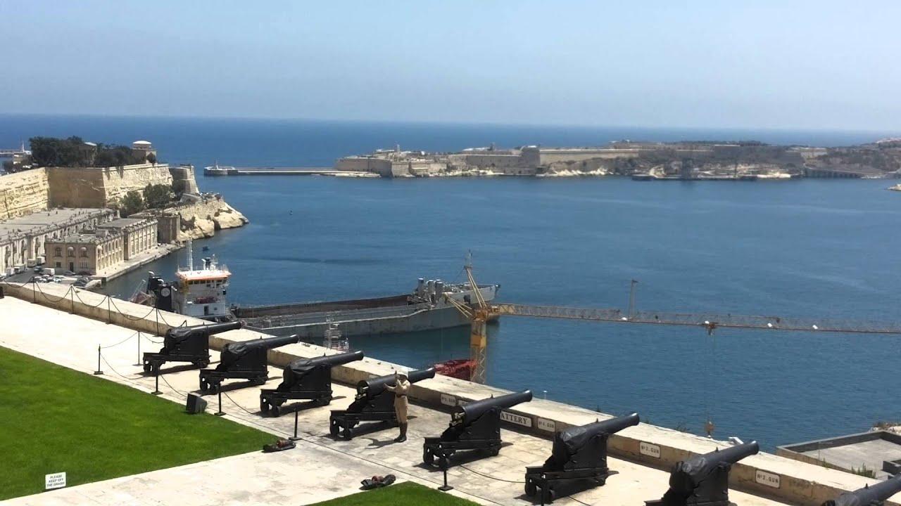Tradizionale Sparo Cannone Malta La Valletta