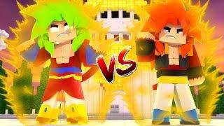 BROLY SSJ4 vs GOGETA SSJ4 - VERSUS DRAGON BLOCK C ‹ Frango ›