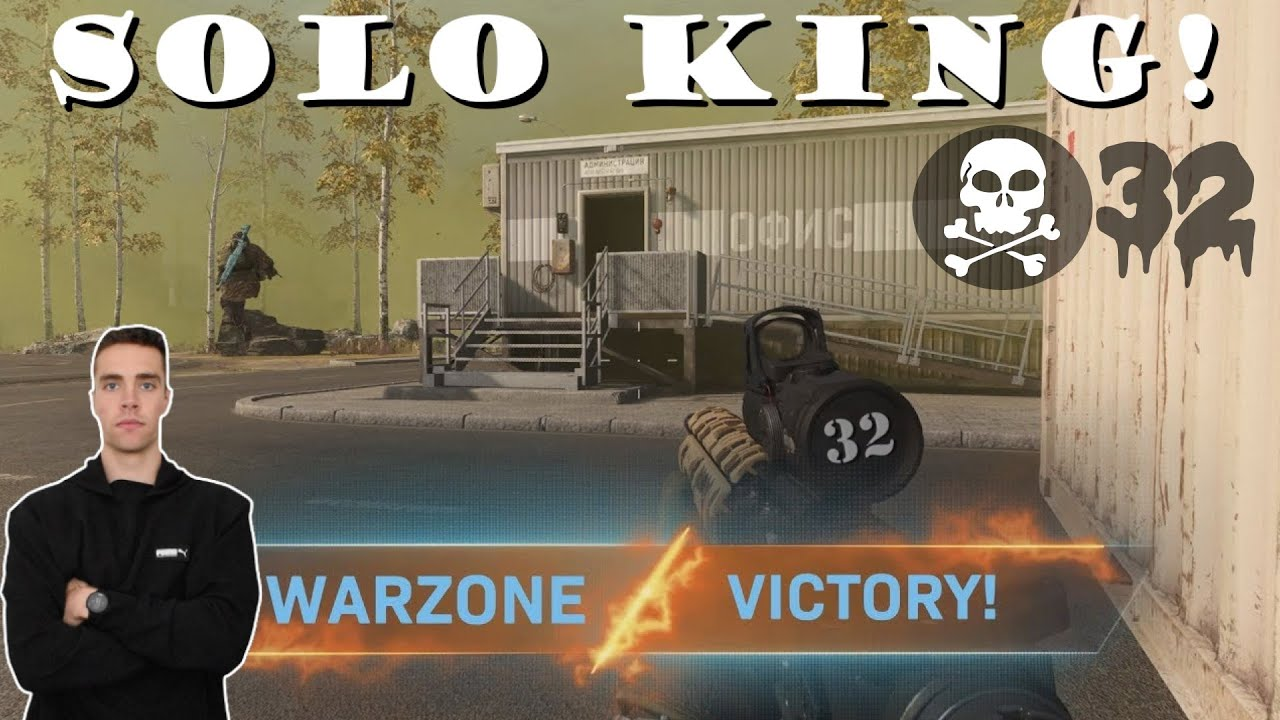 32 KILLSTREAK Solo Warzone Gameplay |