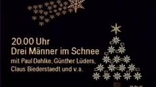 ZDF 24.12.1984 Birgit Schrowange Programmansage