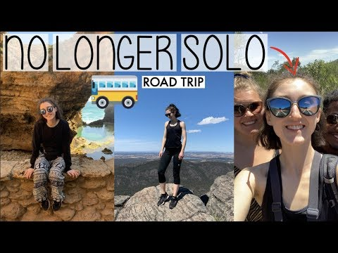 MAKING FRIENDS WHEN TRAVELLING ALONE | ROAD TRIP VLOG ON THE GREAT OCEAN ROAD | HOLLY GOES SOLO #005