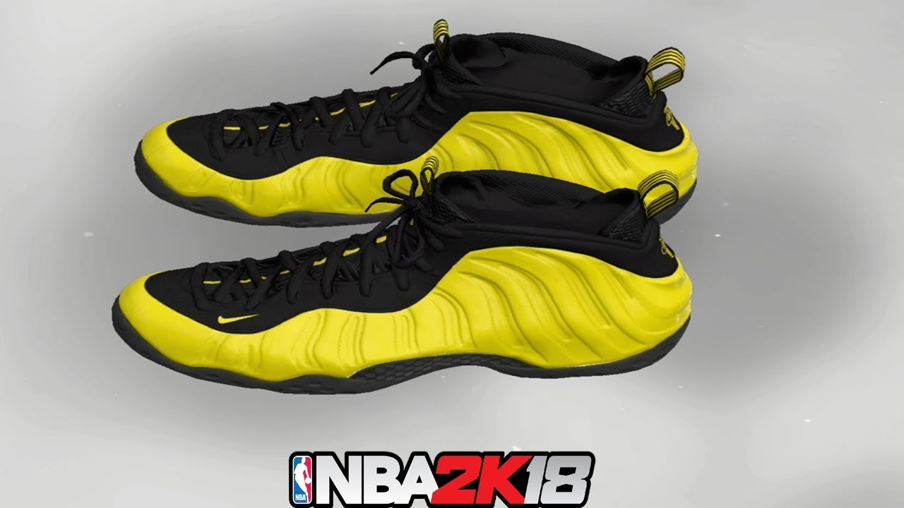 93d2100f4c73a NBA 2K18 Shoe Creator ⋆ NBA2K18⋆ Foamposite One Wu Tang - YouTube