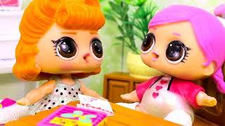 Куклы ЛОЛ LOL СМЕШНЫЕ ВИДЕО 12 Мультфильмы с куклами #Сюрпризы Игрушки Лалалупси Вероника