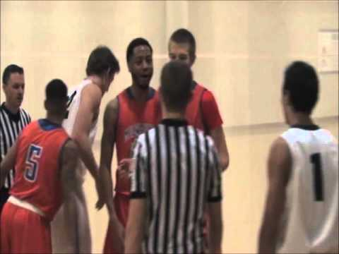 Men's Basketball @ Mid Michigan Community College Game Highlights (12/19/15)