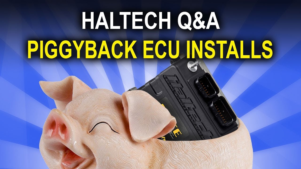 Piggyback Installs, Exhaust Valves and Boost by Gear - Haltech Q&A Episode  25