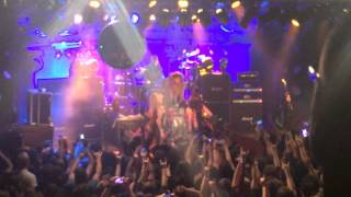 Steel Panther - Lexxi Foxx Hair Solo, Luxembourg February 08 2014