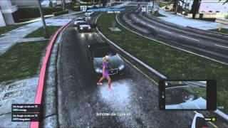"""GTA 5 Online - Schnell 10000$ """"Die Abreise"""" (Deutsch/German)"""
